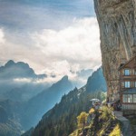 """""""Berggasthaus Aescher"""" - популярный отель швейцарских Альп"""
