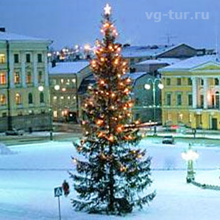 Зимние туры в сказочную Финляндию