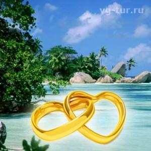 Романтическая атмосфера: свадьба на Сейшелах
