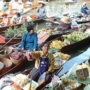 Плавучие рынки Бангкока