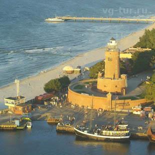 Жемчужина Балтики — Колобжег, уникальный лечебный курорт