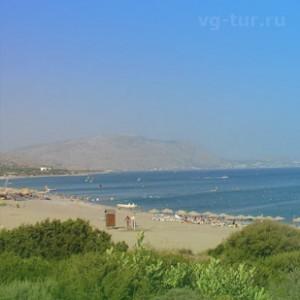 пляж Глистра