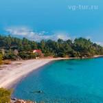берег Халкидики