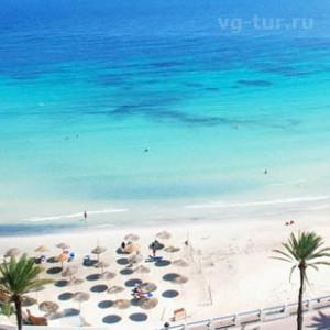 берег в Тунисе