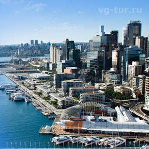 Сидней - город возле бухты
