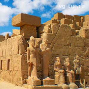 Древнее величие Карнакского храма в Луксоре