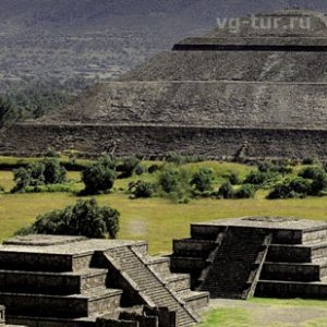 Мексика. Чолула - город церквей