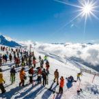 В Сочи открыли горнолыжный сезон